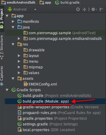 Gradle file to Edit