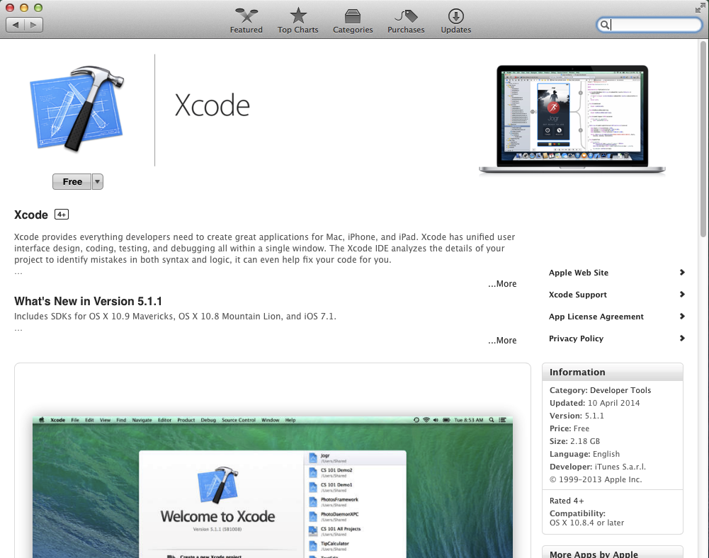 XCode 5 available in the Mac AppStore