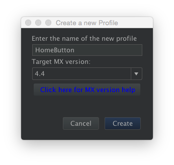 Create EMDK UIManager Profile, step 2